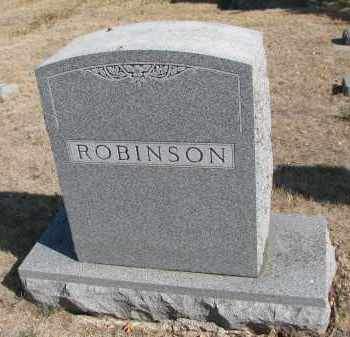 ROBINSON, FAMILY STONE - Yankton County, South Dakota | FAMILY STONE ROBINSON - South Dakota Gravestone Photos