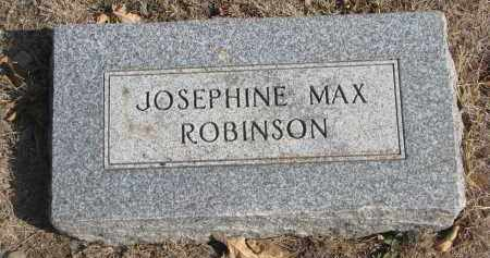 ROBINSON, JOSEPHINE - Yankton County, South Dakota | JOSEPHINE ROBINSON - South Dakota Gravestone Photos