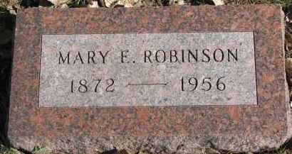 ROBINSON, MARY E. - Yankton County, South Dakota | MARY E. ROBINSON - South Dakota Gravestone Photos