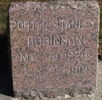 ROBINSON, PORTER STANLEY - Yankton County, South Dakota | PORTER STANLEY ROBINSON - South Dakota Gravestone Photos