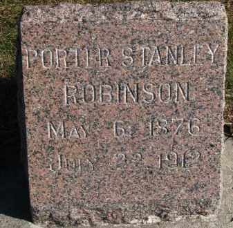 ROBINSON, PORTER STANLEY - Yankton County, South Dakota | PORTER STANLEY ROBINSON - South Dakota Gravestone Photos