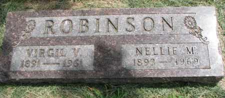 ROBINSON, VIRGIL V. - Yankton County, South Dakota   VIRGIL V. ROBINSON - South Dakota Gravestone Photos