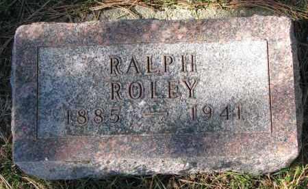 ROLEY, RALPH - Yankton County, South Dakota | RALPH ROLEY - South Dakota Gravestone Photos