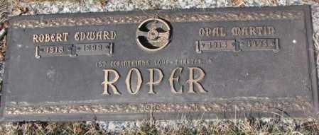 ROPER, OPAL MARTIN - Yankton County, South Dakota | OPAL MARTIN ROPER - South Dakota Gravestone Photos