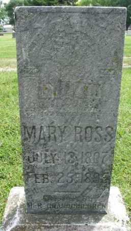 ROSS, MARY - Yankton County, South Dakota | MARY ROSS - South Dakota Gravestone Photos
