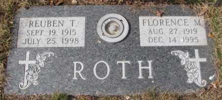 ROTH, FLORENCE M. - Yankton County, South Dakota | FLORENCE M. ROTH - South Dakota Gravestone Photos