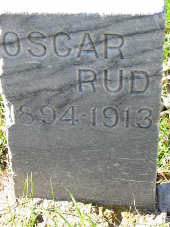 RUD, OSCAR - Yankton County, South Dakota | OSCAR RUD - South Dakota Gravestone Photos