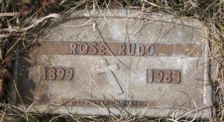 RUDD, ROSE - Yankton County, South Dakota | ROSE RUDD - South Dakota Gravestone Photos