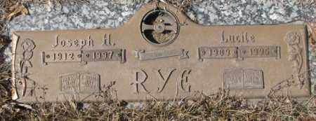 RYE, JOSEPH H. - Yankton County, South Dakota | JOSEPH H. RYE - South Dakota Gravestone Photos
