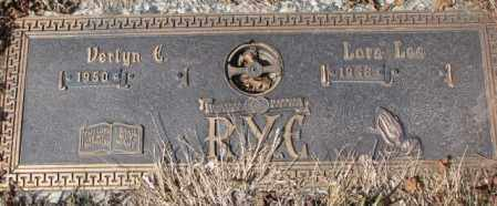 RYE, LOVA LEE - Yankton County, South Dakota | LOVA LEE RYE - South Dakota Gravestone Photos
