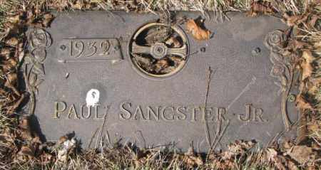 SANGSTER, PAUL JR. - Yankton County, South Dakota | PAUL JR. SANGSTER - South Dakota Gravestone Photos