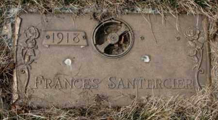 SANTERCIER, FRANCES - Yankton County, South Dakota   FRANCES SANTERCIER - South Dakota Gravestone Photos