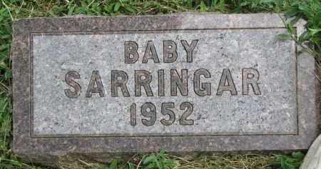 SARRINGAR, BABY - Yankton County, South Dakota | BABY SARRINGAR - South Dakota Gravestone Photos