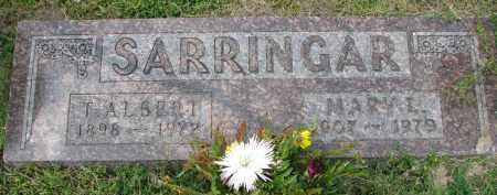 SARRINGAR, MARY I. - Yankton County, South Dakota   MARY I. SARRINGAR - South Dakota Gravestone Photos