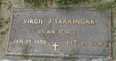 SARRINGAR, VIRGIL J. - Yankton County, South Dakota   VIRGIL J. SARRINGAR - South Dakota Gravestone Photos