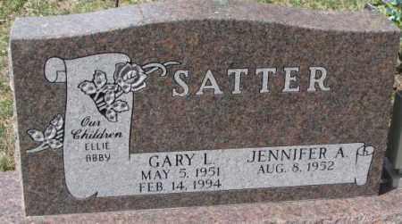 SATTER, JENNIFER A. - Yankton County, South Dakota | JENNIFER A. SATTER - South Dakota Gravestone Photos