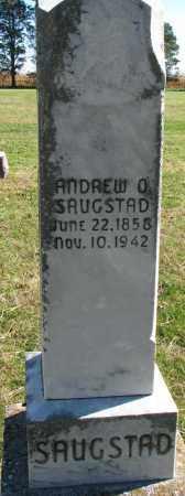 SAUGSTAD, ANDREW O. - Yankton County, South Dakota | ANDREW O. SAUGSTAD - South Dakota Gravestone Photos