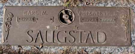SAUGSTAD, ELIZABETH L. - Yankton County, South Dakota | ELIZABETH L. SAUGSTAD - South Dakota Gravestone Photos