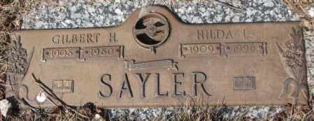 SAYLER, GILBERT H. - Yankton County, South Dakota | GILBERT H. SAYLER - South Dakota Gravestone Photos