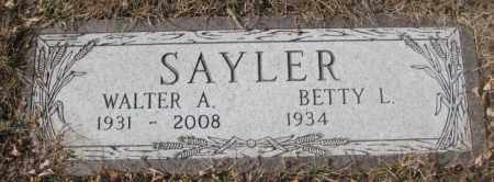 SAYLOR, BETTY L. - Yankton County, South Dakota | BETTY L. SAYLOR - South Dakota Gravestone Photos