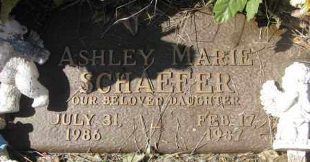 SCHAEFER, ASHLEY MARIE - Yankton County, South Dakota | ASHLEY MARIE SCHAEFER - South Dakota Gravestone Photos