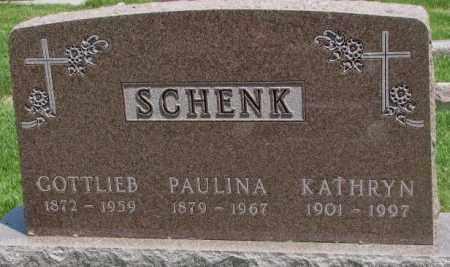 SCHENK, PAULINA - Yankton County, South Dakota | PAULINA SCHENK - South Dakota Gravestone Photos
