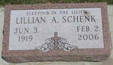 SCHENK, LILLIAN A. - Yankton County, South Dakota | LILLIAN A. SCHENK - South Dakota Gravestone Photos