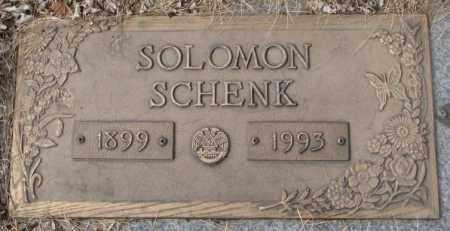 SCHENK, SOLOMON - Yankton County, South Dakota | SOLOMON SCHENK - South Dakota Gravestone Photos