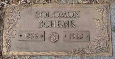 SCHENK, SOLOMON - Yankton County, South Dakota | SOLOMON SCHENK - South Dakota Gravestone Photos