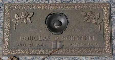 SCHENKEL, DOUGLAS D. - Yankton County, South Dakota   DOUGLAS D. SCHENKEL - South Dakota Gravestone Photos
