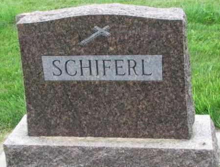 SCHIFERL, PLOT - Yankton County, South Dakota | PLOT SCHIFERL - South Dakota Gravestone Photos