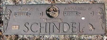 SCHINDEL, ANNABEL M. - Yankton County, South Dakota | ANNABEL M. SCHINDEL - South Dakota Gravestone Photos