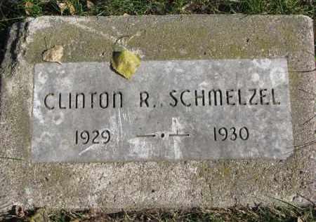 SCHMELZEL, CLINTON R. - Yankton County, South Dakota | CLINTON R. SCHMELZEL - South Dakota Gravestone Photos