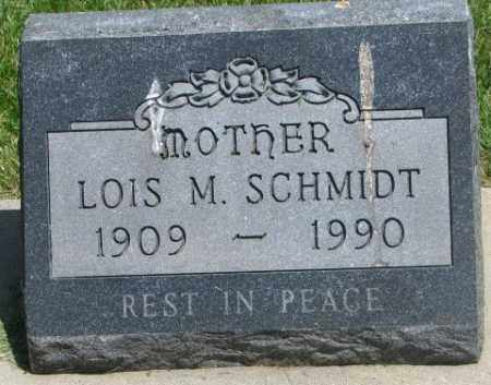 SCHMIDT, LOIS M. - Yankton County, South Dakota | LOIS M. SCHMIDT - South Dakota Gravestone Photos