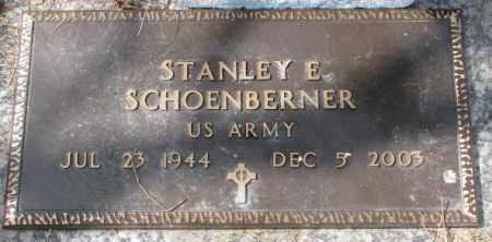SCHOENBERNER, STANLEY E. - Yankton County, South Dakota | STANLEY E. SCHOENBERNER - South Dakota Gravestone Photos