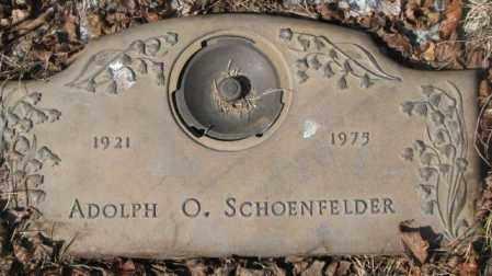 SCHOENFELDER, ADOLPH O. - Yankton County, South Dakota | ADOLPH O. SCHOENFELDER - South Dakota Gravestone Photos