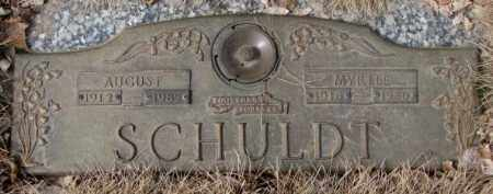SCHULDT, MYRTLE - Yankton County, South Dakota | MYRTLE SCHULDT - South Dakota Gravestone Photos