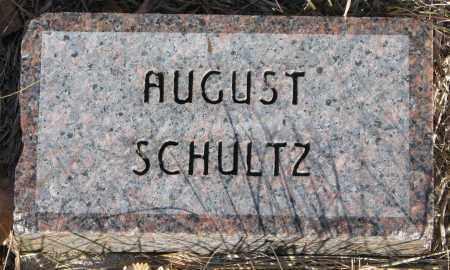 SCHULTZ, AUGUST A. - Yankton County, South Dakota | AUGUST A. SCHULTZ - South Dakota Gravestone Photos