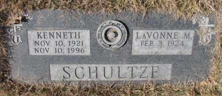 SCHULTZE, LAVONNE M. - Yankton County, South Dakota | LAVONNE M. SCHULTZE - South Dakota Gravestone Photos