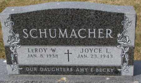 SCHUMACHER, JOYCE L. - Yankton County, South Dakota | JOYCE L. SCHUMACHER - South Dakota Gravestone Photos