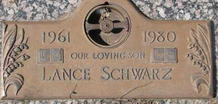 SCHWARZ, LANCE - Yankton County, South Dakota | LANCE SCHWARZ - South Dakota Gravestone Photos