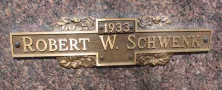 SCHWENK, ROBERT W. - Yankton County, South Dakota   ROBERT W. SCHWENK - South Dakota Gravestone Photos