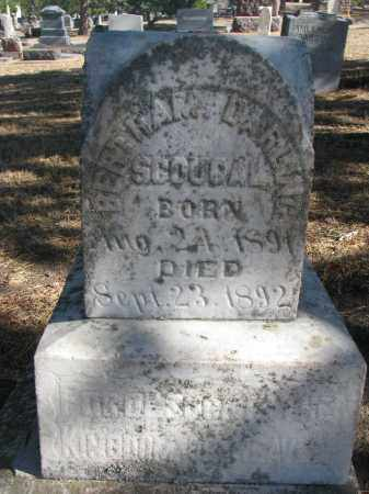 SCOUGAL, BERTRAM DARLING - Yankton County, South Dakota | BERTRAM DARLING SCOUGAL - South Dakota Gravestone Photos