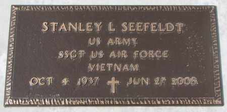SEEFELDT, STANLEY L. (MILITARY) - Yankton County, South Dakota | STANLEY L. (MILITARY) SEEFELDT - South Dakota Gravestone Photos