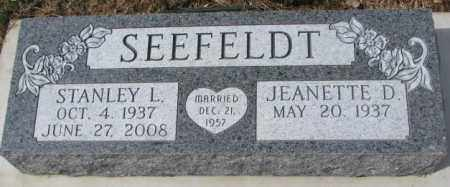 SEEFELDT, JEANETTE D. - Yankton County, South Dakota | JEANETTE D. SEEFELDT - South Dakota Gravestone Photos