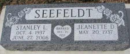 SEEFELDT, STANLEY L. - Yankton County, South Dakota | STANLEY L. SEEFELDT - South Dakota Gravestone Photos