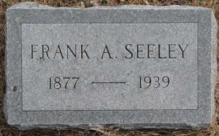 SEELEY, FRANK A. - Yankton County, South Dakota | FRANK A. SEELEY - South Dakota Gravestone Photos