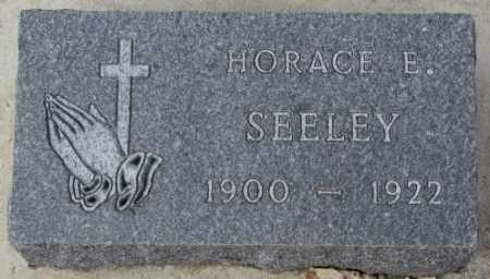 SEELEY, HORACE E. - Yankton County, South Dakota | HORACE E. SEELEY - South Dakota Gravestone Photos