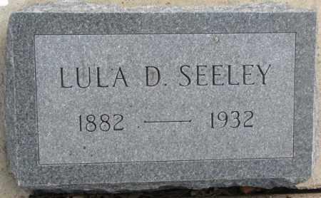 SEELEY, LULA D. - Yankton County, South Dakota | LULA D. SEELEY - South Dakota Gravestone Photos