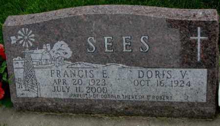 SEES, DORIS V. - Yankton County, South Dakota | DORIS V. SEES - South Dakota Gravestone Photos